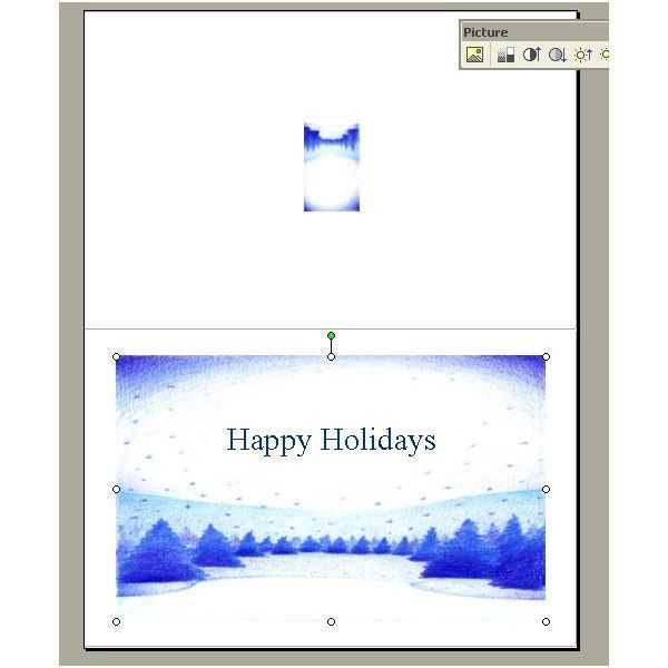 Guide to Creating Business Holiday Cards in Microsoft Word