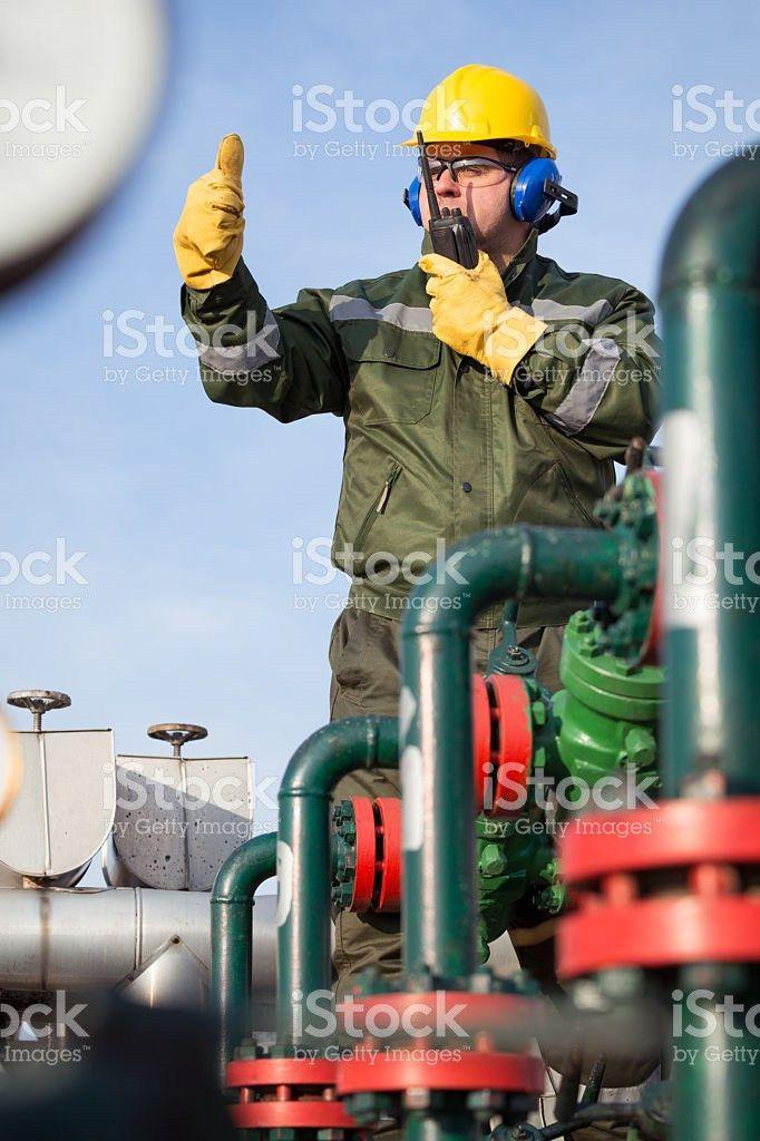 Gas Production Operator stock photo 510957954 | iStock