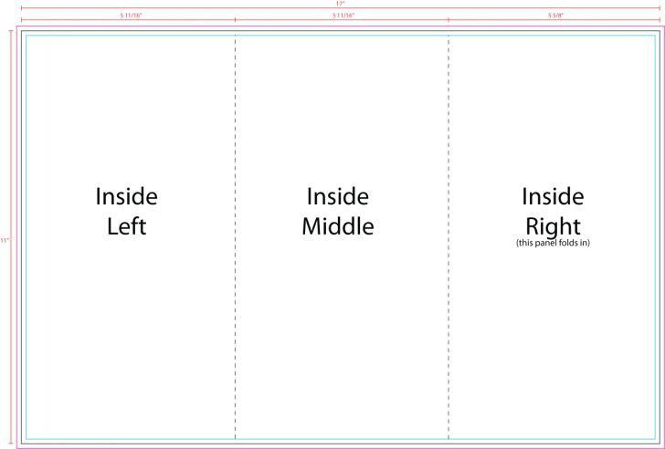Awesome Tri Fold Brochure Template | pikpaknews