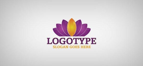 Water Lily Logo Template - Free Logo Design Templates | Freebie ...