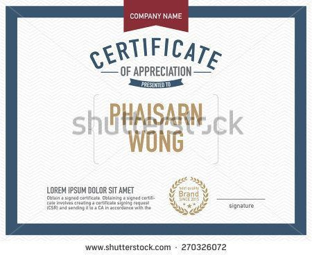 24 best Certificates images on Pinterest | Certificate design ...