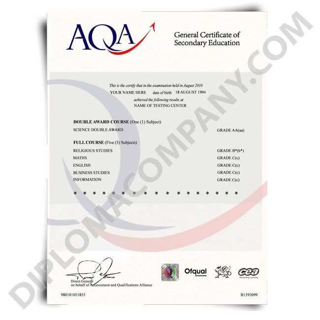 Fake Certificates designed from real ones! | DiplomaCompany.com