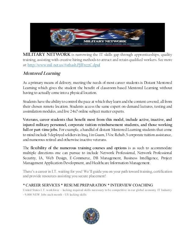 Jobs for Veterans Act - Cyber Security Needs
