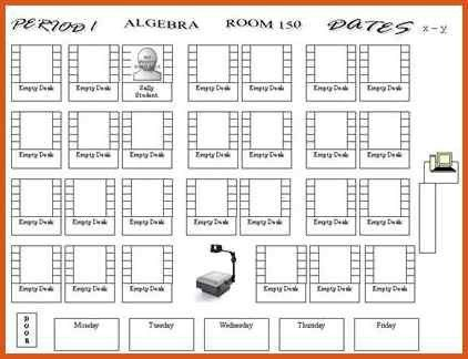 classroom seating chart | general resumes