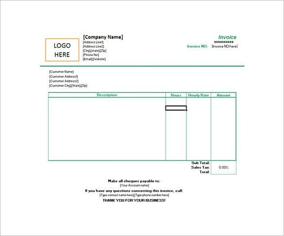 7+ Estimate Invoice Templates – Free Word, PDF & Excel Documents ...