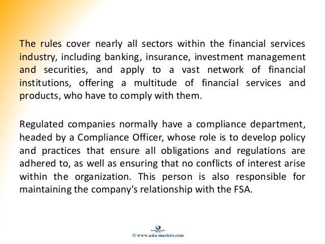 Certified Compliance Officer - Presentation Slides