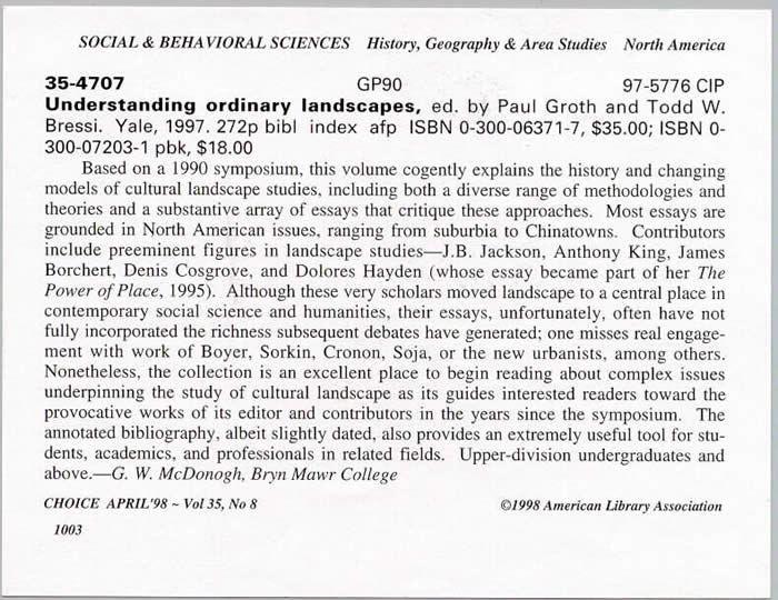 Book Reviews - Valdosta State University