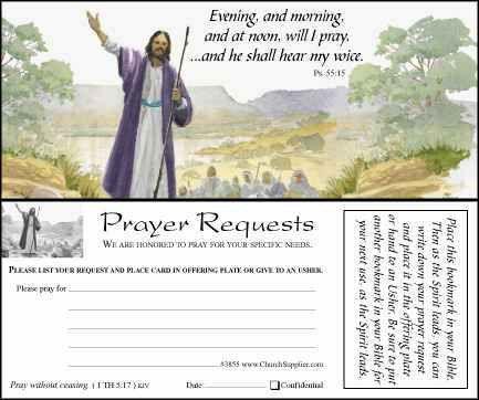 Prayer Card Template Free Download - Image Mag