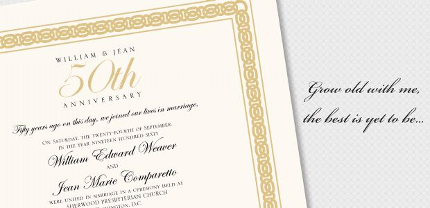 50th Wedding Anniversary Gift Certificate Templa ~ Imbusy