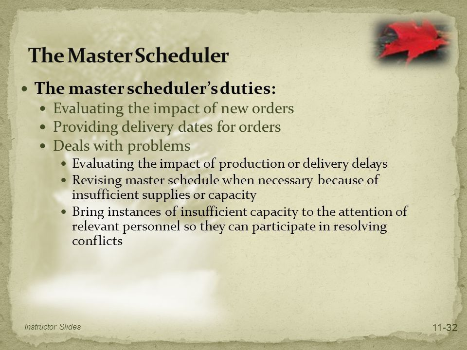 Aggregate Planning and Master Scheduling - ppt download