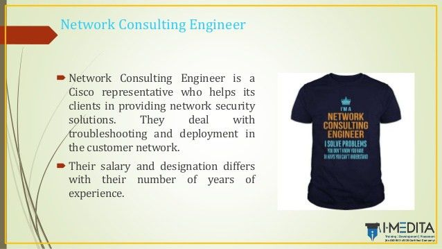 Network Consulting Engineer. network consulting engineer 4 ...
