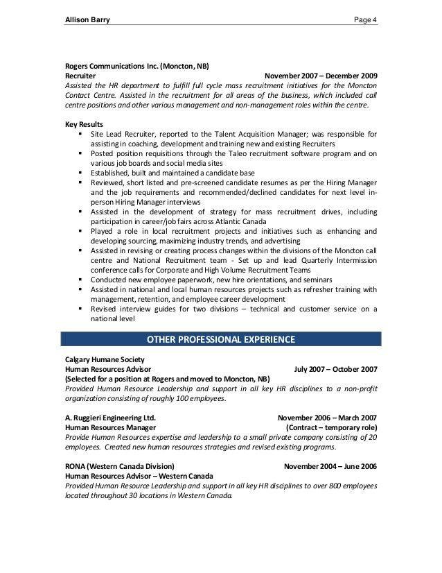 bilingual recruiter resume bilingual recruiter resume sample
