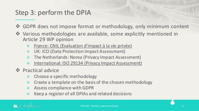 Data Protection Impact Assessments under the GDPR