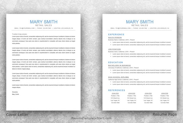 Classic Resume Template Word - Resume Template Start