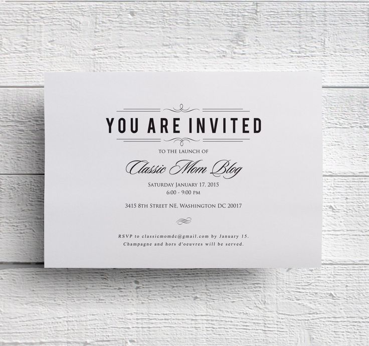 Corporate Dinner Invitation | cimvitation