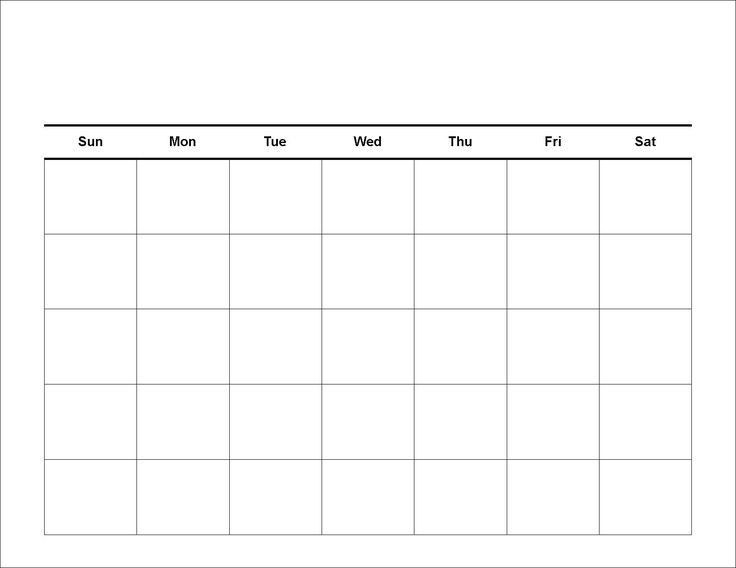 Meal Calendar Template. Here Is A Blank Meal Plan Template You Can ...