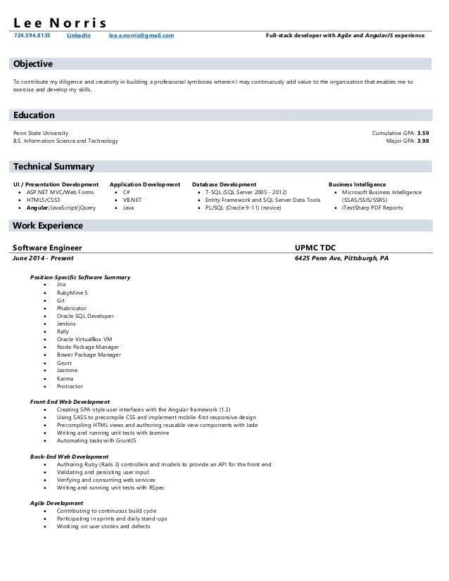 ruby on rails web developer resume ruby on rails developer resume ...