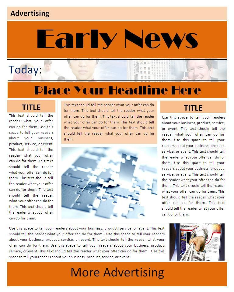 8 Best Images of Newsletter Templates Microsoft Word 2010 ...