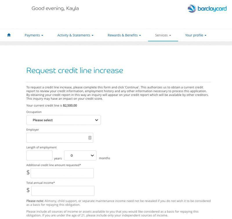 How (and why) to Request a Credit Limit Increase with Barclaycard