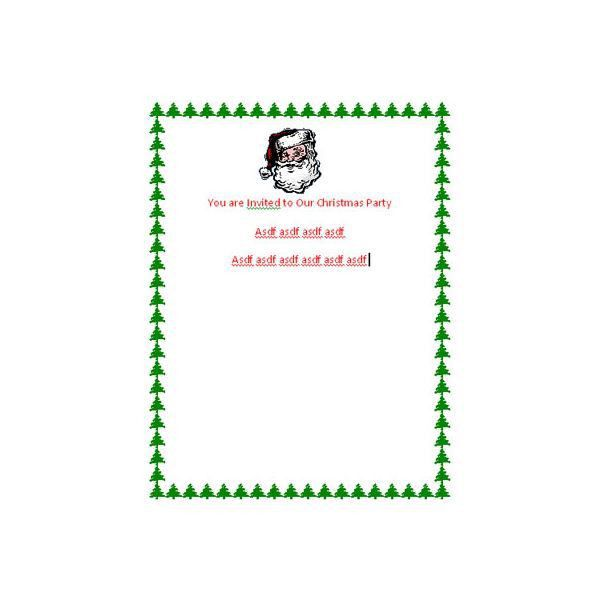 DIY Christmas Invitations: Make Your Own Invites in Microsoft Word