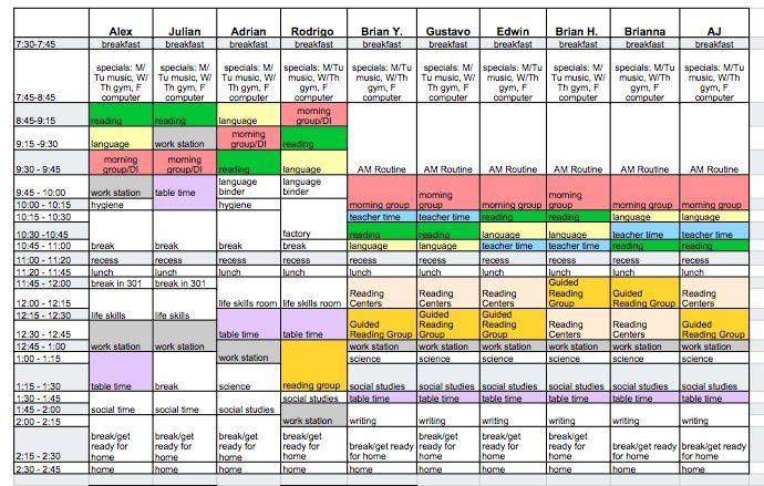 Schedules {Making the Schedule} - The Autism Helper