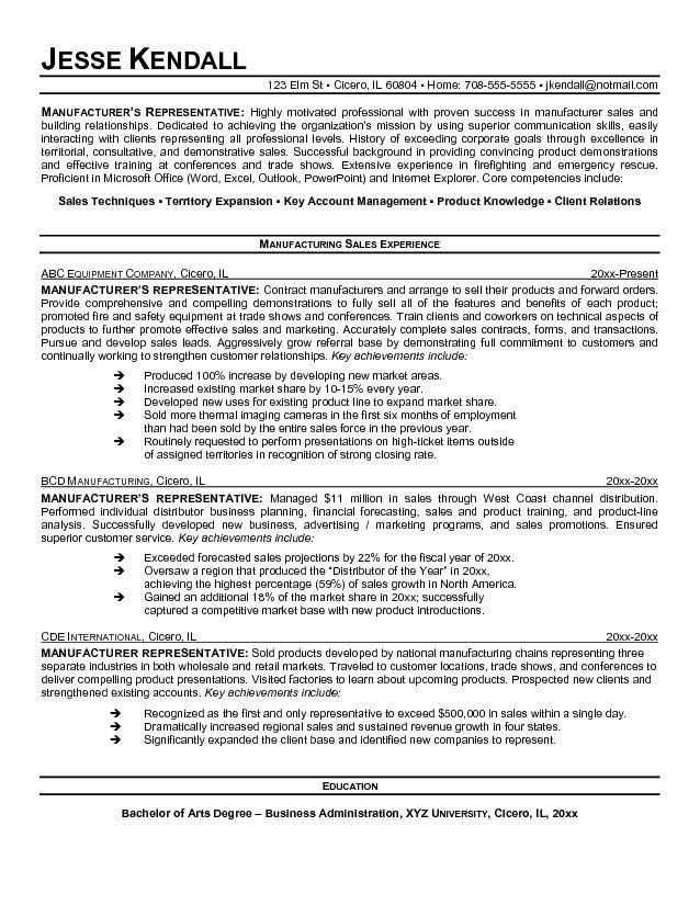 Inside Sales Representative Resume Sample | ilivearticles.info