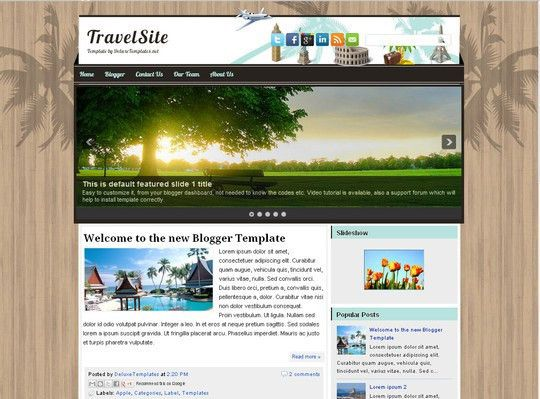 45+ Beautiful Blogger Templates Free To Use | SmashingApps.com