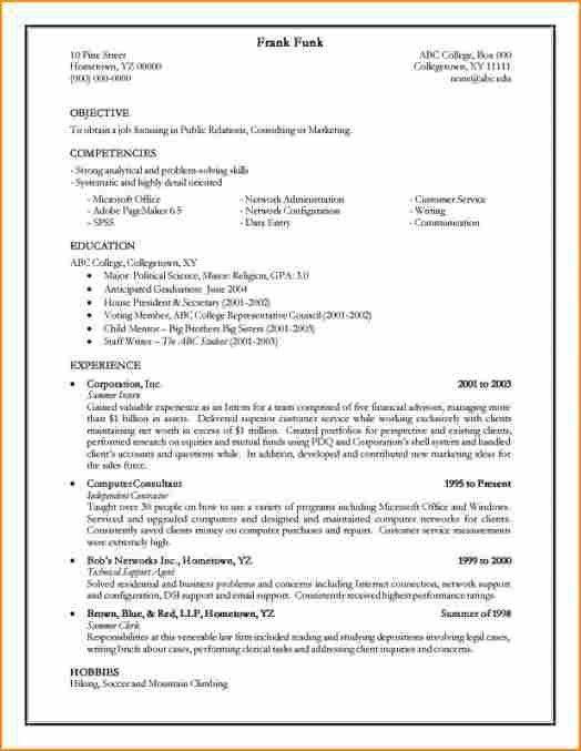 13+ how to make cv for job - Basic Job Appication Letter