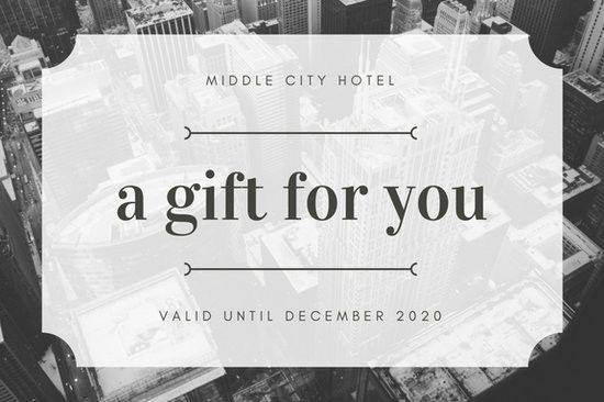 Gift Certificate Templates - Canva
