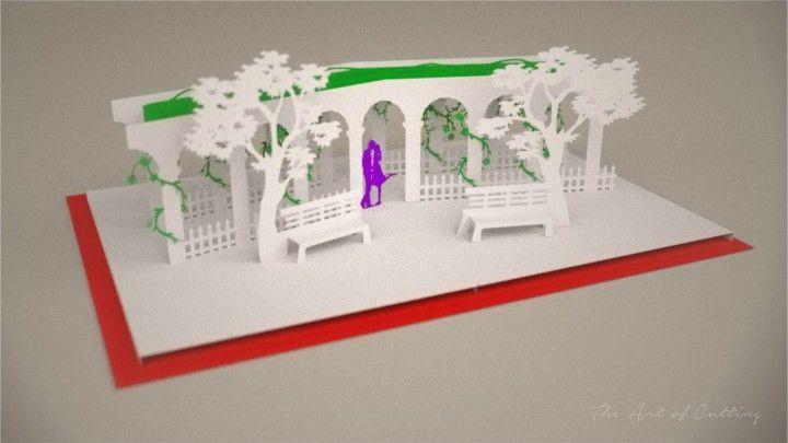 Tutorial] Love park pop up card — Make The Cut! Forum