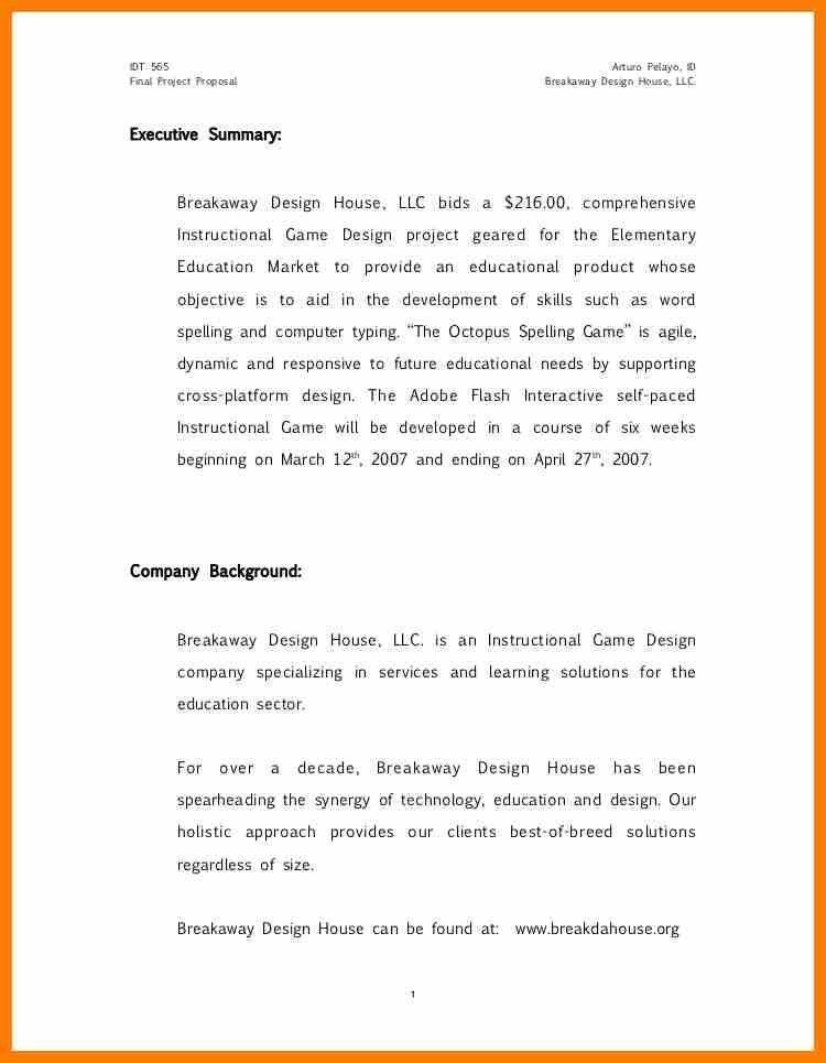 9+ example of project proposal   sephora resume