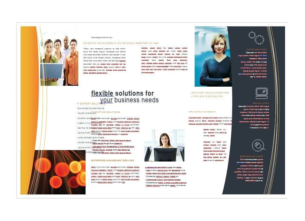 Brochure Template Word | Business Plan Template