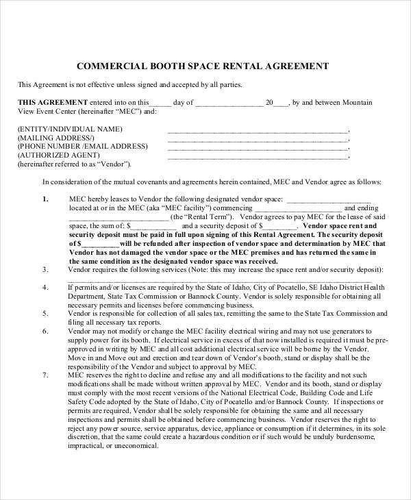 18+ Rent Agreement Format Templates | Free & Premium Templates