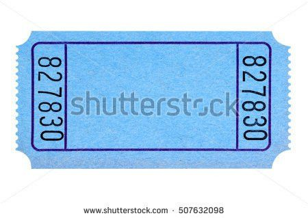 Blank Ticket Stub Stock Images, Royalty-Free Images & Vectors ...