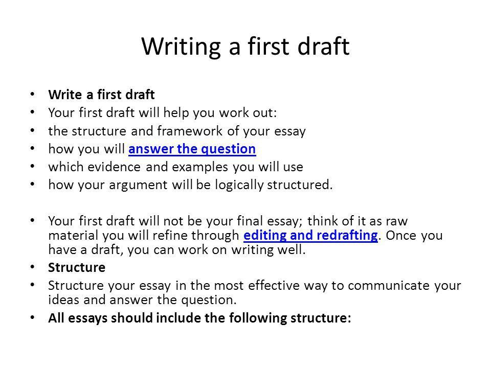 How to prepare and present high-quality essays - ppt video online ...