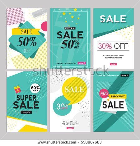 Creative Luxury Abstract Social Media Web Stock Vector 591167402 ...