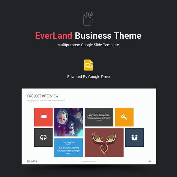 Everland Business Google Slide Theme by SimpleSmart | GraphicRiver