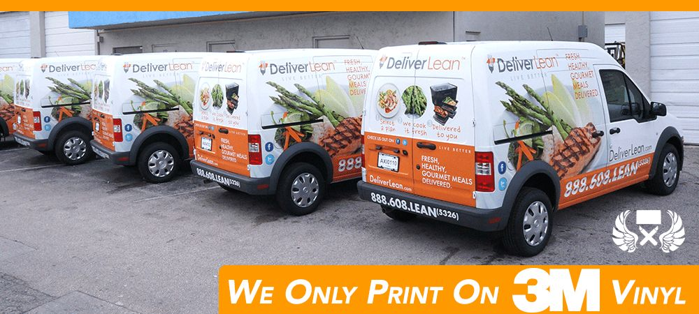 Ford Transit & Transit Connect Vans Wraps, Graphics & Lettering