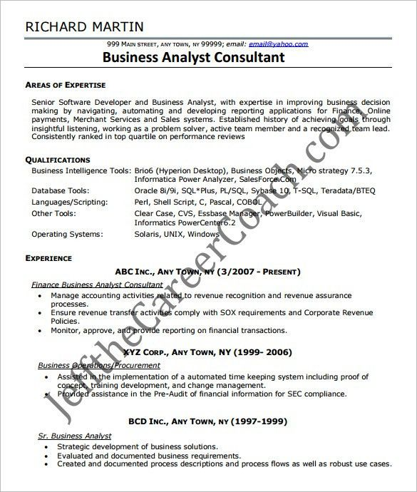 entry level business analyst resume entry level business analyst