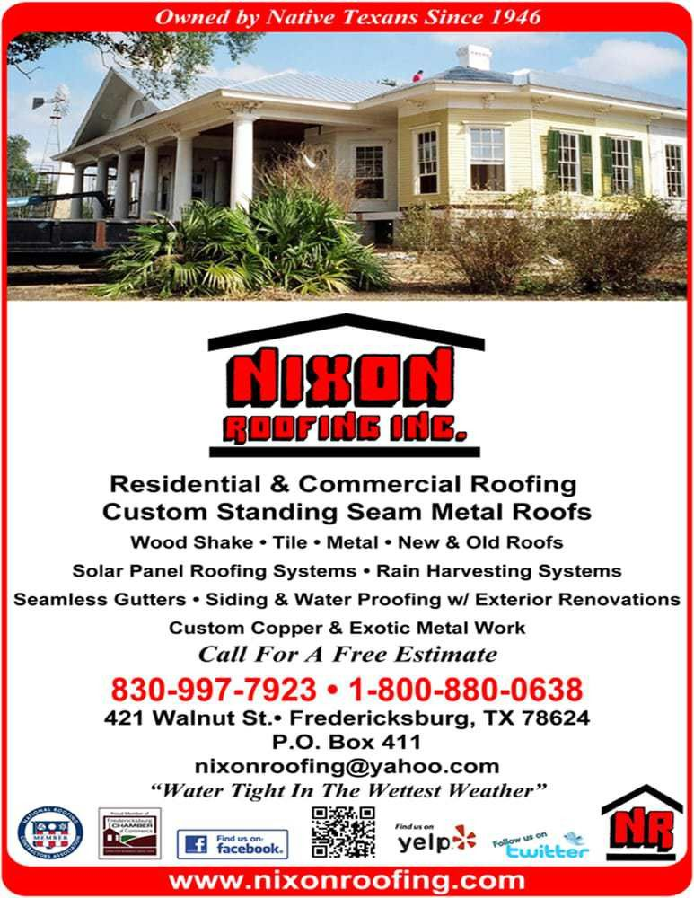 Nixon Roofing Inc - Get Quote - Roofing - 421 East Walnut St ...