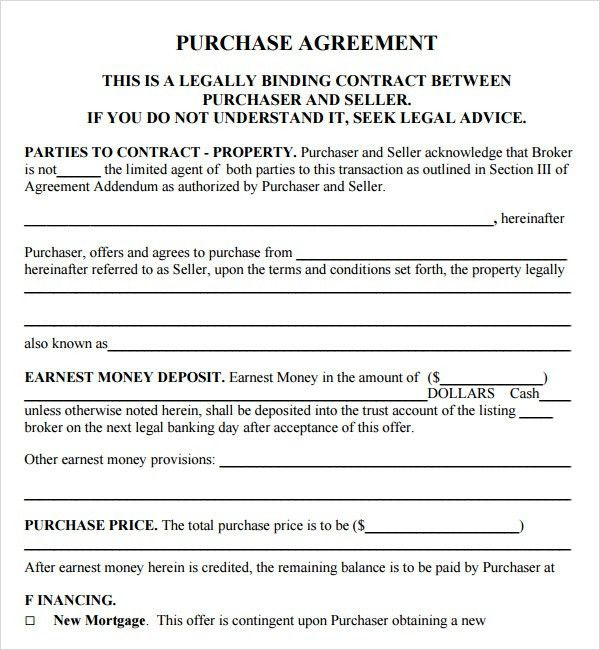 legal contract templates free
