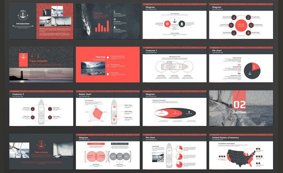 60+ Beautiful, Premium PowerPoint Presentation Templates | Design ...