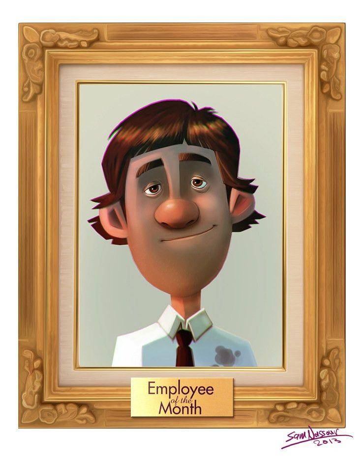 Employee Of The Month For Pinterest   BLOKK 2 Cellebiologi ...
