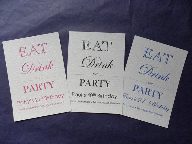 21st Party Invitations Template | Best Template Collection
