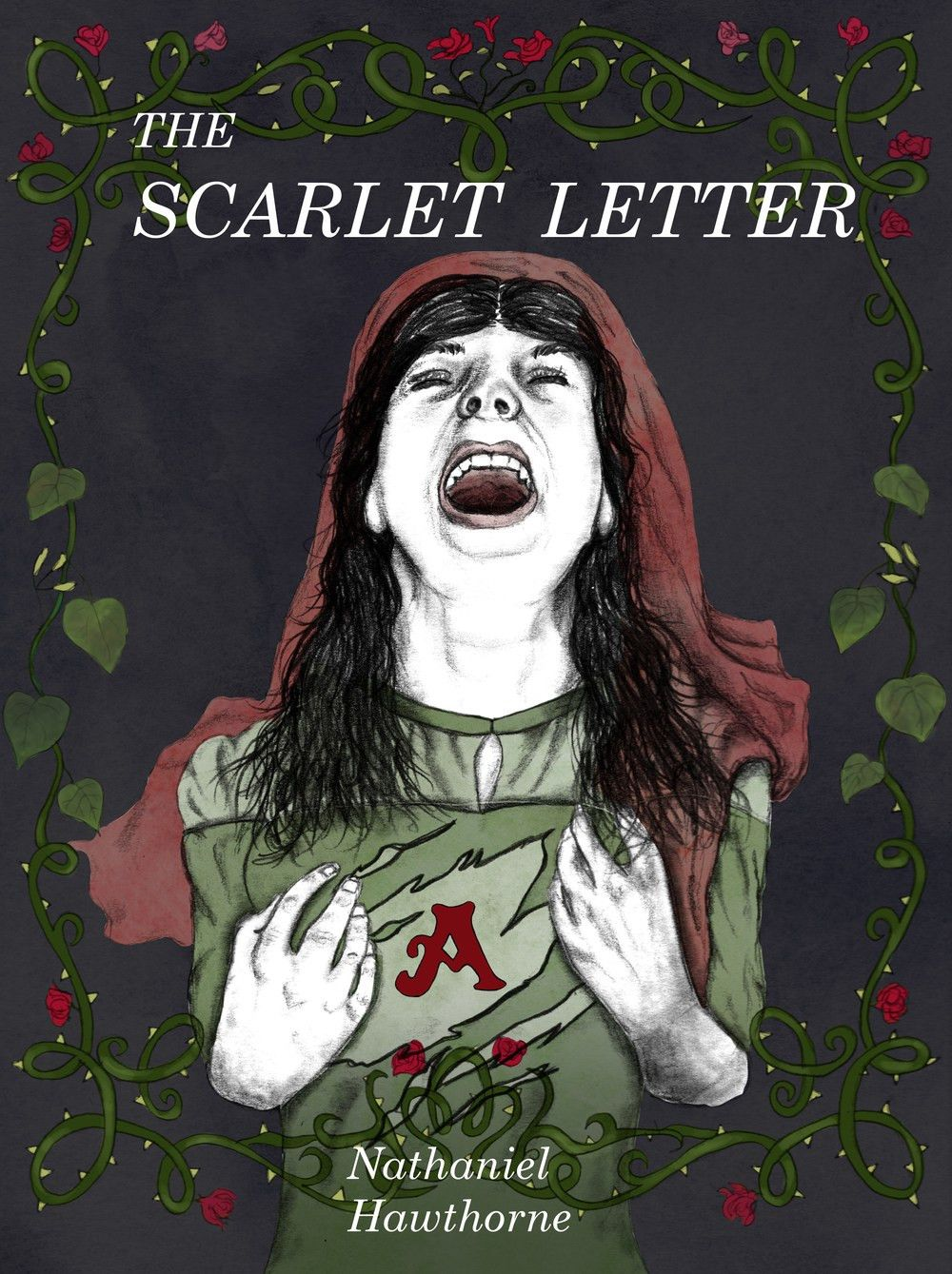 scarletjpg. scarlet letter book cover by kccreations. buy the ...