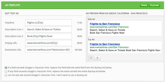 AdWords ad copy tool to create highly relevant ads | Keyword Machine