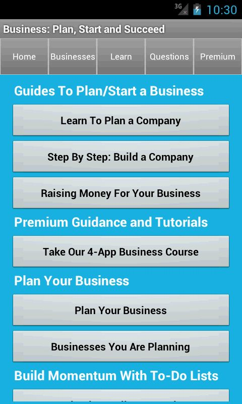 Business Plan & Start Startup - Android Apps on Google Play
