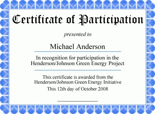 Free Printable Certificates - Personalize It, Then Print It