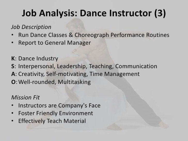 choreographer job description adtc thank you jobs dance camp