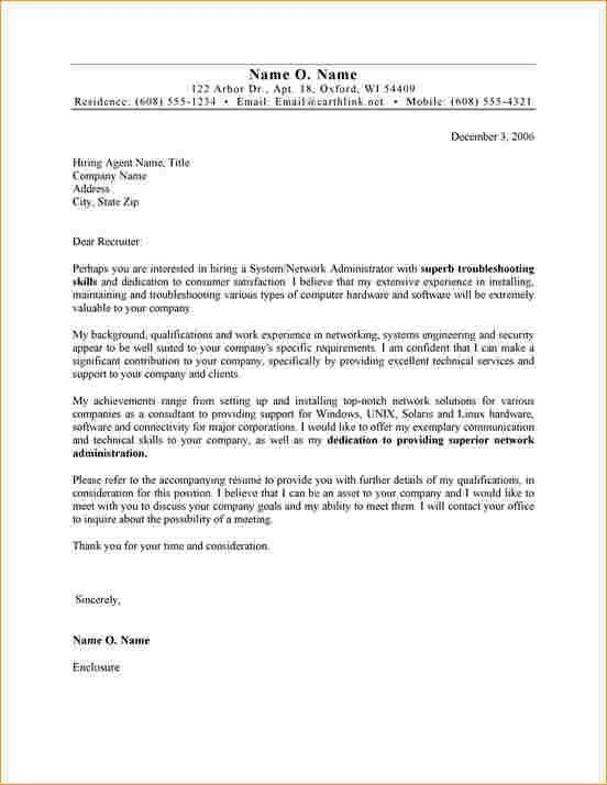 Admin job cover letter - Business Proposal Templated - Business ...